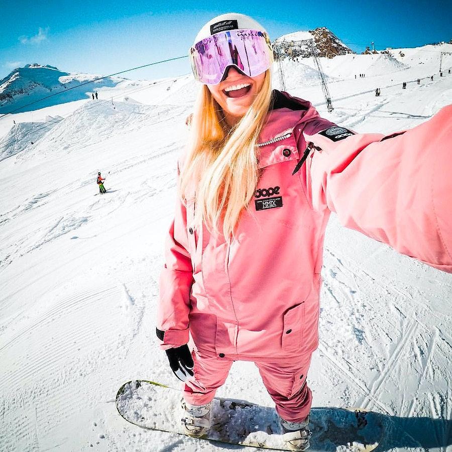 Pink adept jacket back in stock!